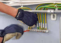 pus jordning kabelstege